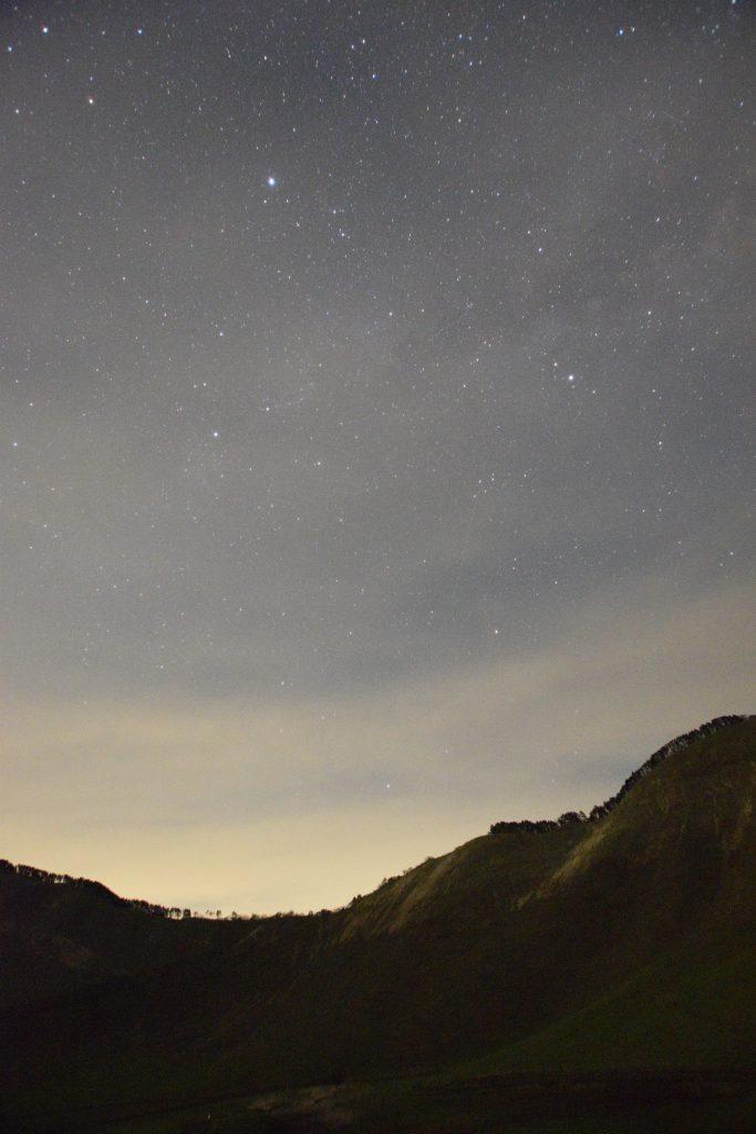 曽爾高原 夏の大三角と天の川1