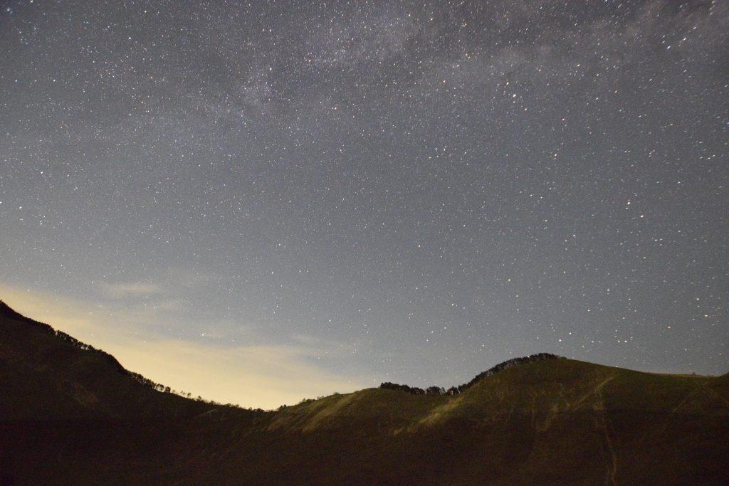 曽爾高原 夏の大三角と天の川3